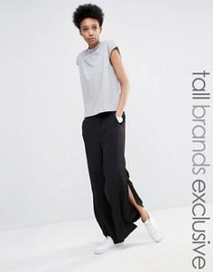 Широкие брюки с разрезами Adpt Tall - Темно-синий
