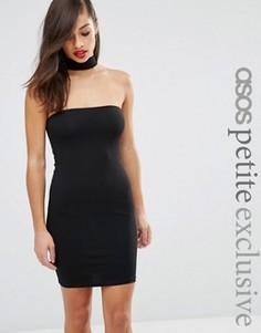 Платье-футляр мини ASOS PETITE Exclusive - Черный