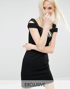 Эксклюзивное платье Monki - Черный