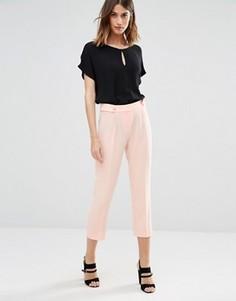 Мягкие брюки со складками Vero Moda - Розовый