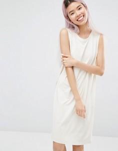 Платье без рукавов Monki - Белый