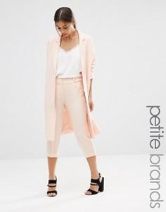 Брюки-галифе из мягкой ткани Vero Moda Petite - Розовый