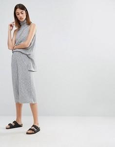 Комбинируемые брюки с широкими штанинами Native Youth - Серый