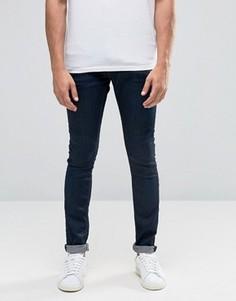 Эластичные джинсы скинни цвета индиго Selected - Синий