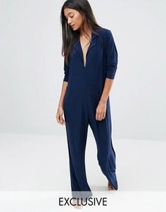 Комбинезон-пижама Moonchild - Темно-синий