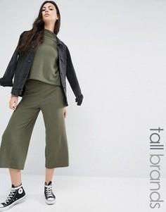 Трикотажная юбка-брюки Noisy May Tall - Зеленый
