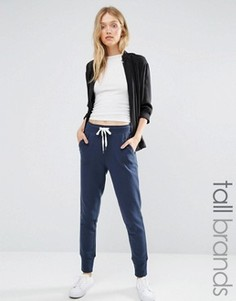 Джоггеры с контрастной завязкой Vero Moda Tall - Темно-синий