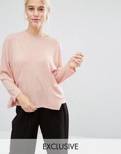 Джемпер с карманом Monki - Розовый