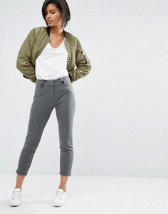 Брюки с узкими штанинами Vero Moda - Серый