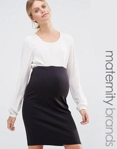 Платье-футляр 2 в 1 Mamalicious - Мульти Mama.Licious