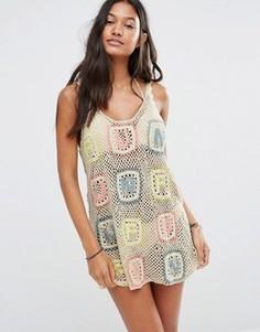 Ажурное платье Wildfox Sabrina - Кремовый