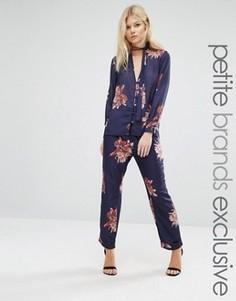 Пижамные штаны с цветочным принтом Alter Petite - Мульти