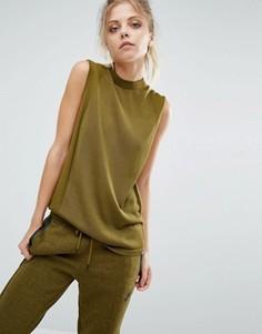 Майка с высокой горловиной Nike Premium - Зеленый