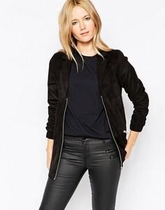 Куртка с удлиненной передней частью Minimum Ama - Черный