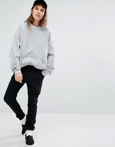 Черные спортивные штаны с логотипом Le Coq Sportif - Черный