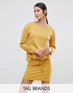 Свободное трикотажное платье Vero Moda Tall - Желтый