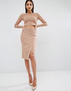 Юбка-карандаш Kendall + Kylie - Розовый