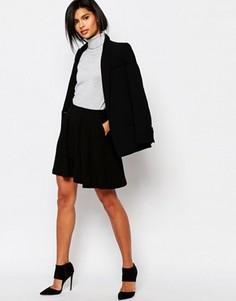 Короткая расклешенная юбка Vero Moda - Темно-синий