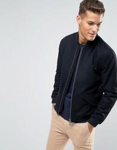 Черная шерстяная куртка‑пилот Jack Wills - Черный