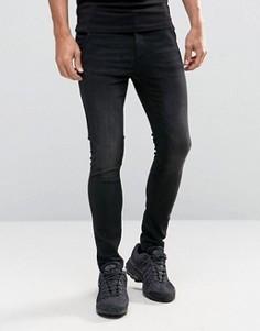 Черные джинсы скинни с прорехами Illusive London - Черный