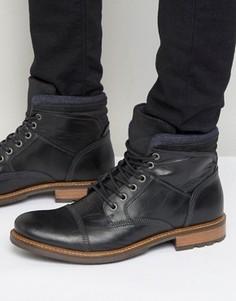 Кожаные ботинки Aldo Onerillan - Черный