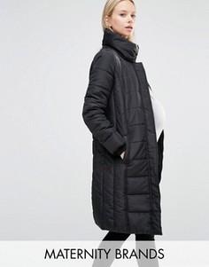 Стеганая куртка Mamalicous - Черный Mama.Licious