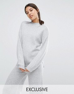 Oversize-джемпер с манжетами Micha Lounge - Серый