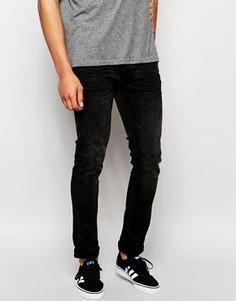 Черные выбеленные джинсы скинни Blend Cirrus - Черный