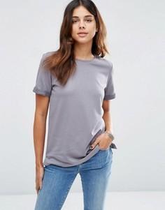 Легкая трикотажная футболка ASOS - Темно-синий