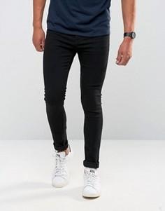 Супероблегающие джинсы Only & Sons - Черный