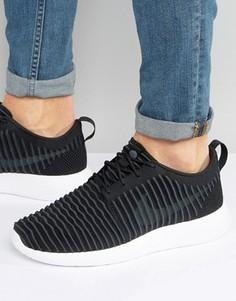 Черные кроссовки Nike Roshe Flyknit 844833-001 - Черный