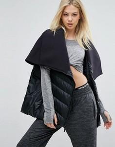 Черное дутое пальто Nike Aeroloft - Черный