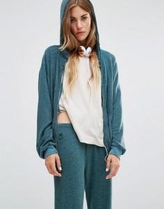 Худи в винтажном стиле Wildfox - Зеленый