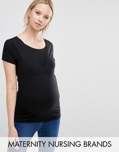 Футболка для кормления New Look Maternity - Черный