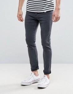 Серые джинсы скинни New Look - Серый