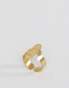Кольцо с отделкой в виде кактуса Made Daisy Knights - Золотой
