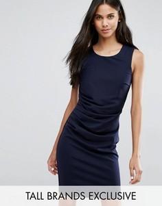 Платье-футляр без рукавов Y.A.S Tall Lane - Темно-синий