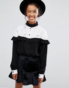 Рубашка Lazy Oaf X Disney 101 Dalmatians - Черный