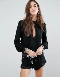 Блузка Tularosa Coco - Черный