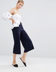 Темно-синяя юбка‑шорты Style Mafia - Синий