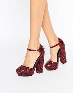Туфли на платформе Daisy Street - Мульти