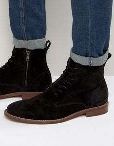 Замшевые ботинки на молнии ALDO Cadirama - Черный