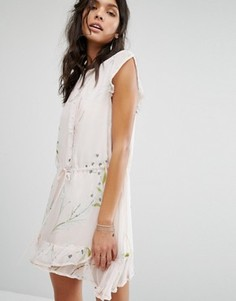 Платье с цветочным принтом Stevie May Daintree - Белый