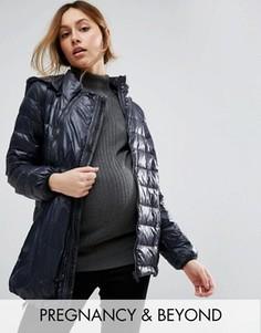 Легкая куртка 3 в 1 с отстегиваемым капюшоном и рукавами Modern Eternity - Черный