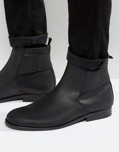 Кожаные ботинки Zign Jodphur - Черный