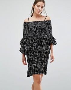 Платье Y.A.S Abby - Черный