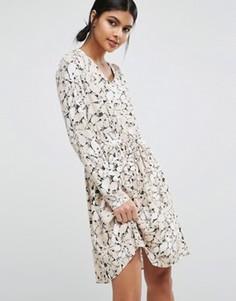 Платье Y.A.S Blossom - Мульти