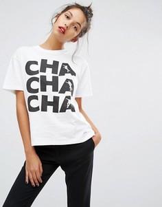 Футболка PS by Paul Smith Cha Cha Cha - Белый