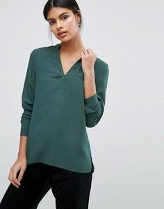 Рубашка на молнии Y.A.S Nemi - Зеленый