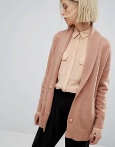 Oversize-кардиган Moss Copenhagen - Розовый